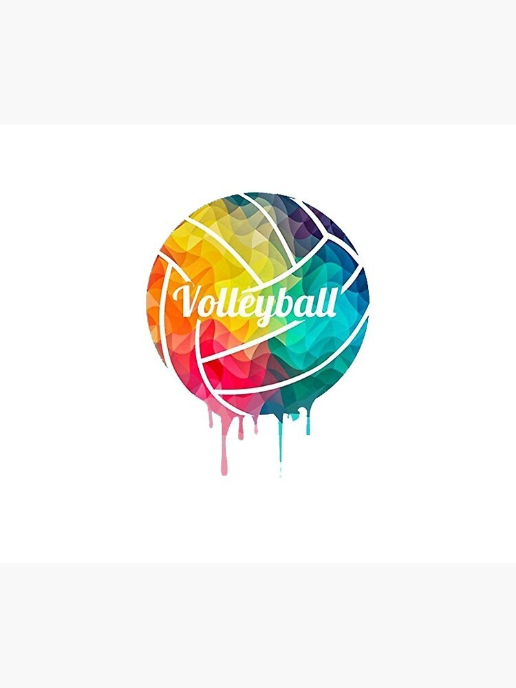 colored volleyball