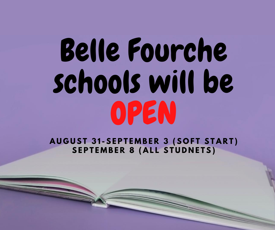 Belle Fourche Schools will be Open